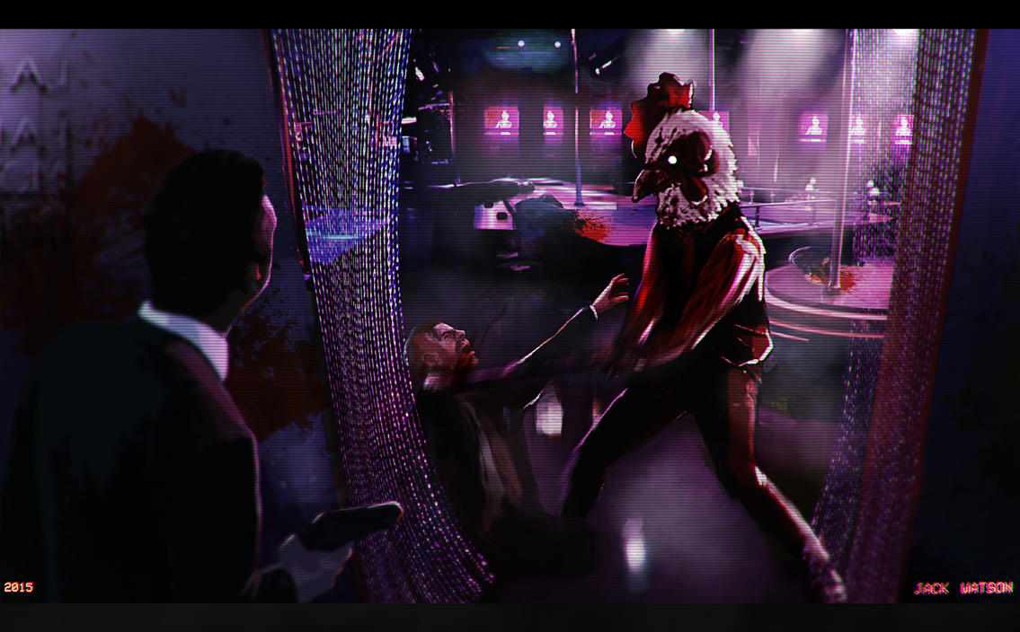 Night at the Club by strawbos