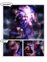 Evil ryu vs chun li pg 5 by Tree-ink