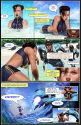 Chun Li the Gauntlet Page 14 by Tree-ink
