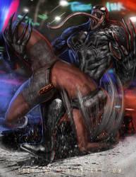 Venom vs Vanessa by Tree-ink