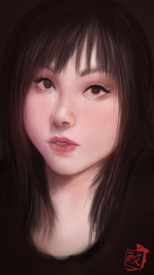 Portrait of a Friend by Tree-ink