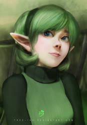Saria by Tree-ink