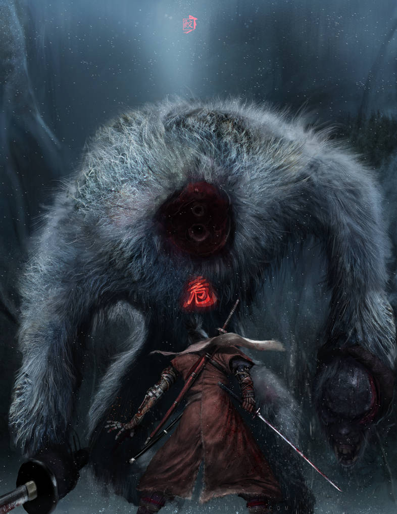 Headless guardian Ape by Tree-ink