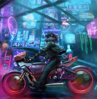 cyberpunk Sai bree