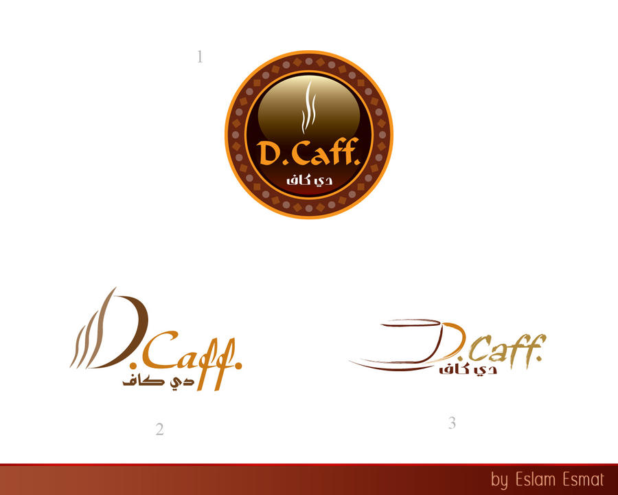 D Caff Logo by Eslam