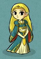 Wind Waker Botw Zelda by ellenent