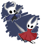 Hollow Knight - Knight and Hornet