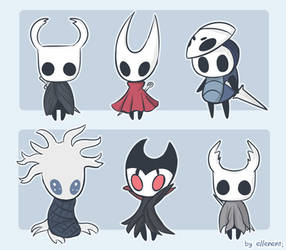 Hollow Knight Babies by ellenent