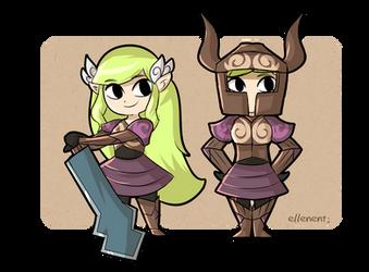 Phantom Zelda 2 by ellenent
