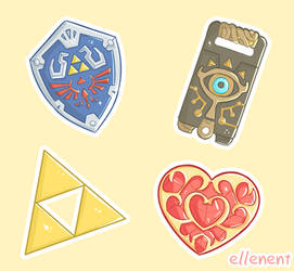 Zelda Items V