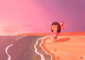 Animal Crossing New Horizons Sunset