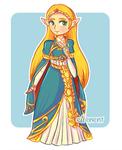 Linktober - Day 2 - Princess Zelda Botw
