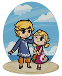 Linktober - Day 28 - Link and Aryll