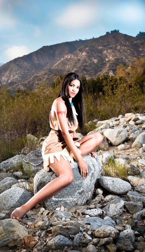 Native Princess Pocahontas by xAleux