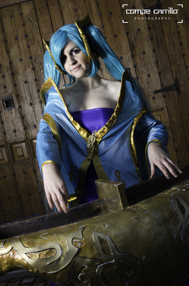 Sona - League of Legends by VeroEs