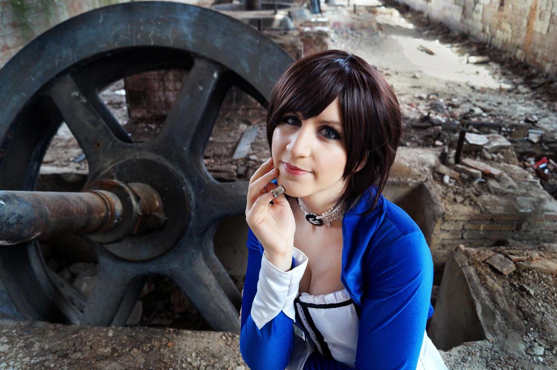 Portrait - Elizabeth from Bioshock Infinite by VeroEs