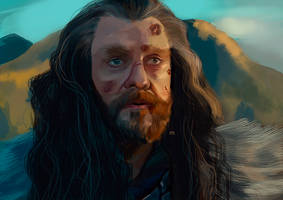Thorin Oakenshield by VeroEs