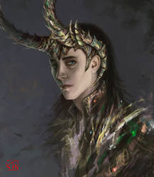 Loki by RinaCane