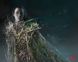 Loki_commission by RinaCane