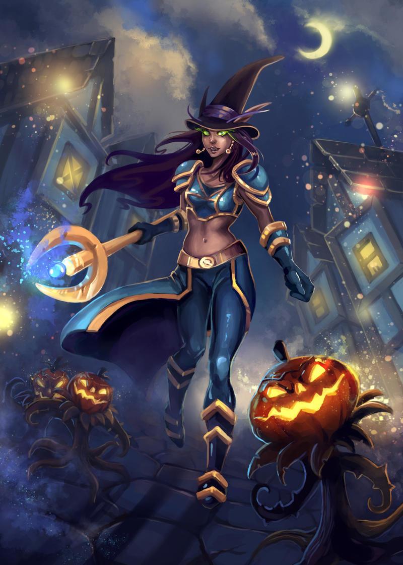WoW halloween 2015 by RinaCane on DeviantArt