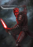 Maul clone wars by RinaCane