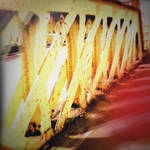 Holga Print 11 - Footbridge