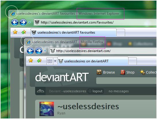 Change the Firefox Window Icon by uselessdesires