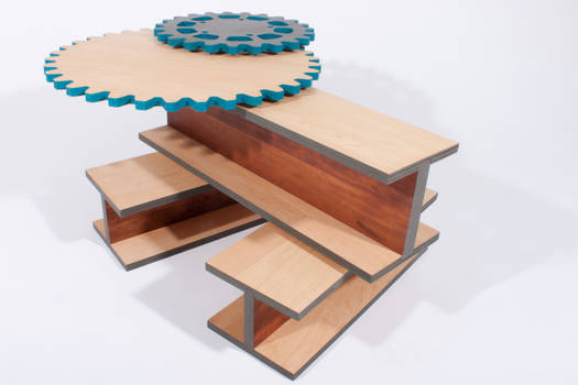 I-Beam Gear Table