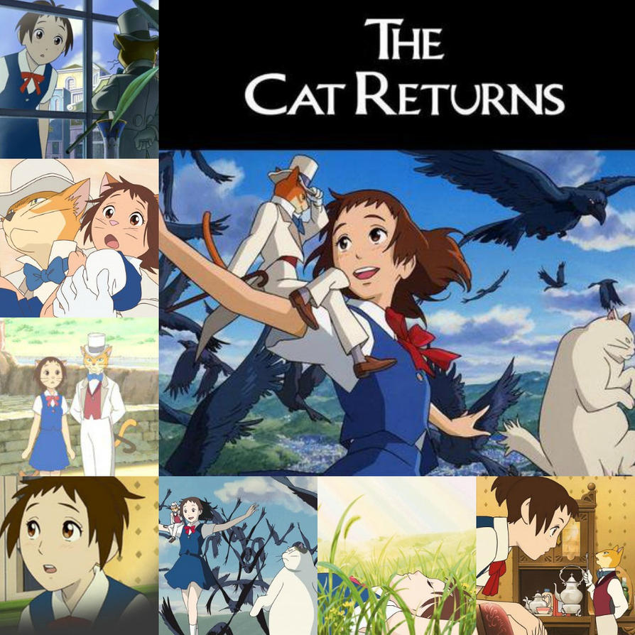 Image result for The Cat Returns 2002