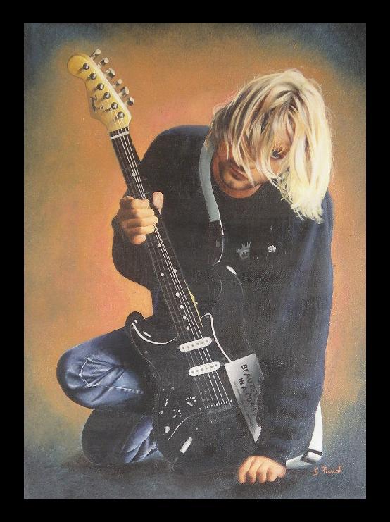 Kurt Cobain by Asaliah23