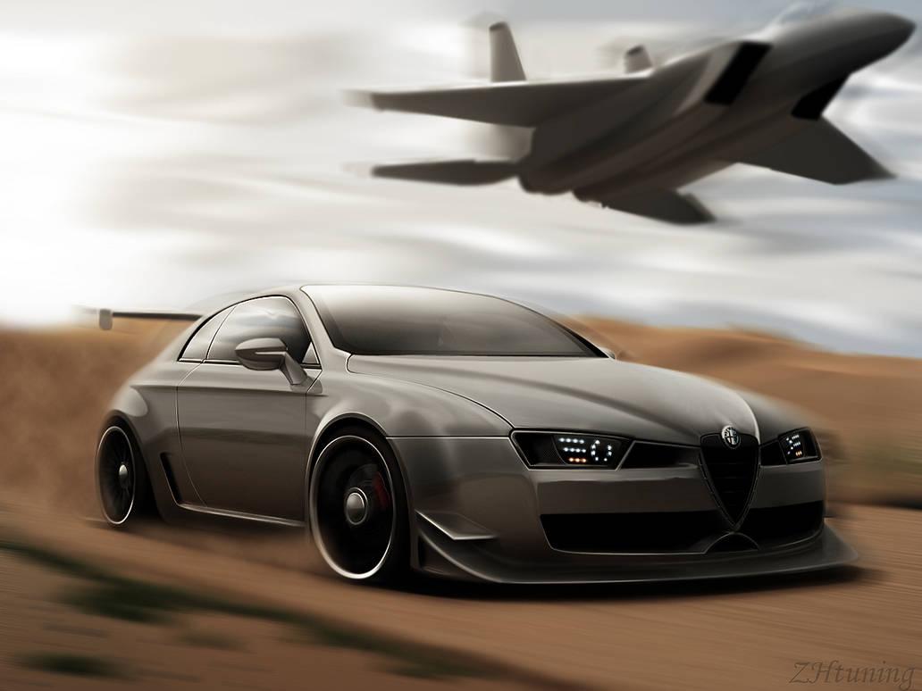 Alfa Romeo Brera by ZHtuning