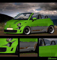 Fiat 500 by ZHtuning