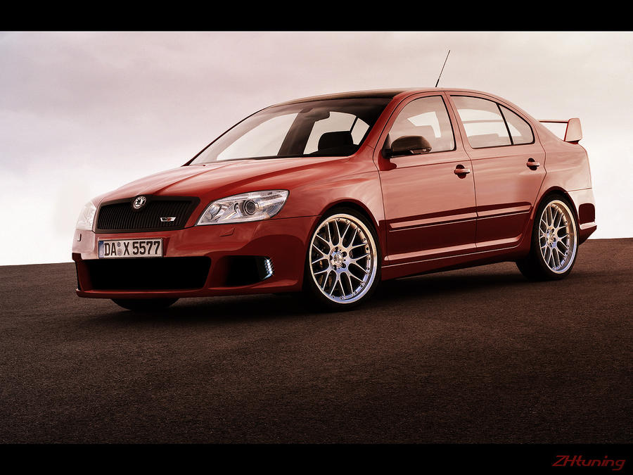 skoda octavia 360 rs by zhtuning on deviantart. Black Bedroom Furniture Sets. Home Design Ideas