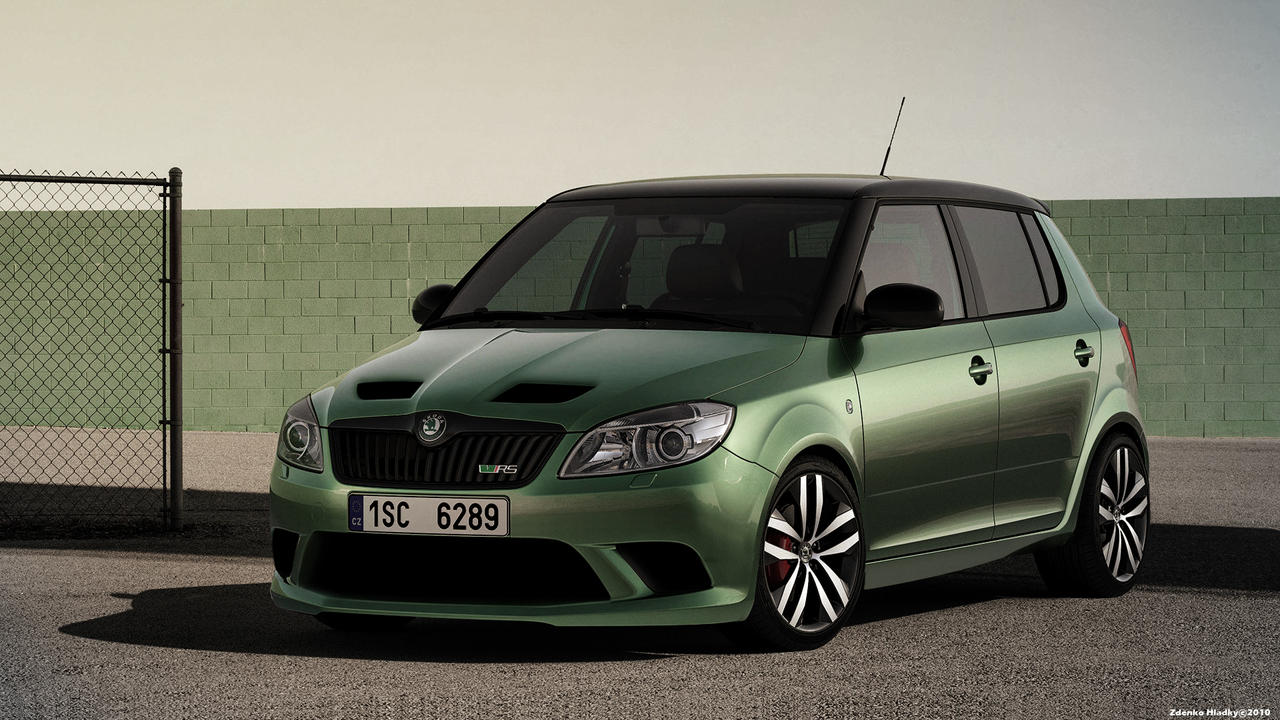 skoda fabia rs2000 by zhtuning on deviantart. Black Bedroom Furniture Sets. Home Design Ideas
