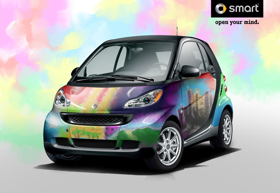 smart fortwo water paint by zhtuning on deviantart. Black Bedroom Furniture Sets. Home Design Ideas