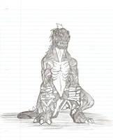 DarkTyrannomon by Underdell