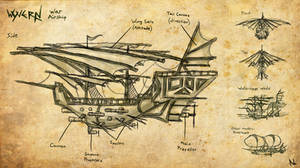 Airship Design: The Wyvern