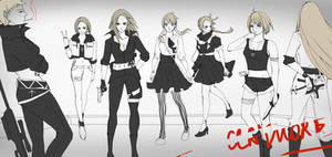 Claymore AU--The Seven