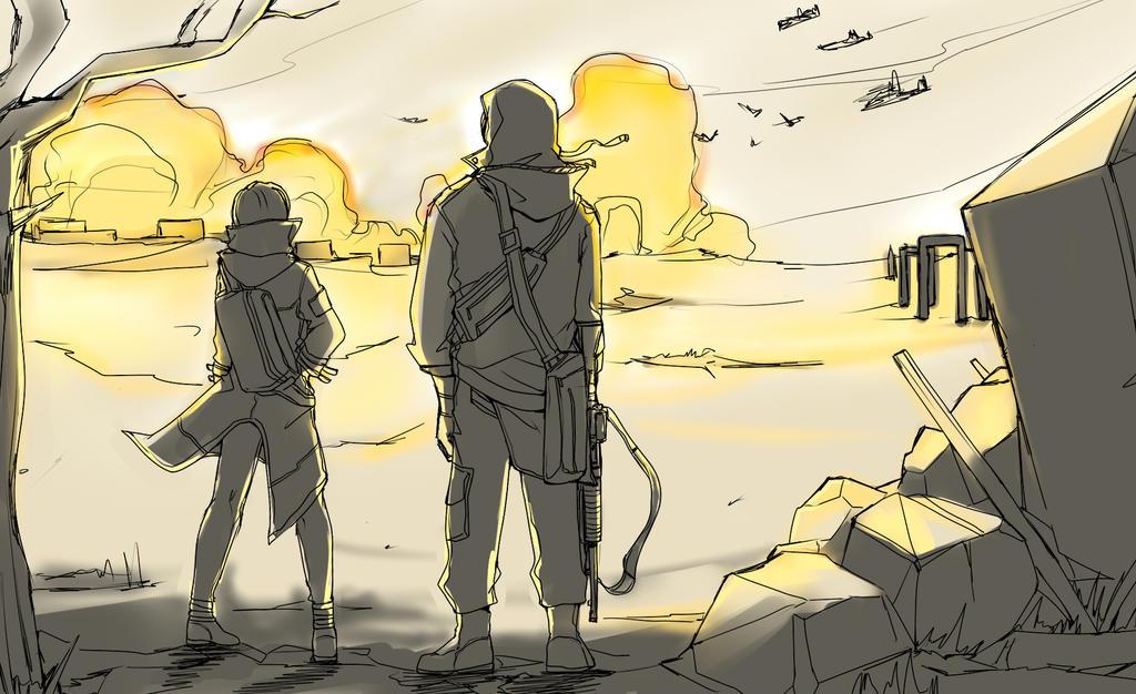 War by miehongchen