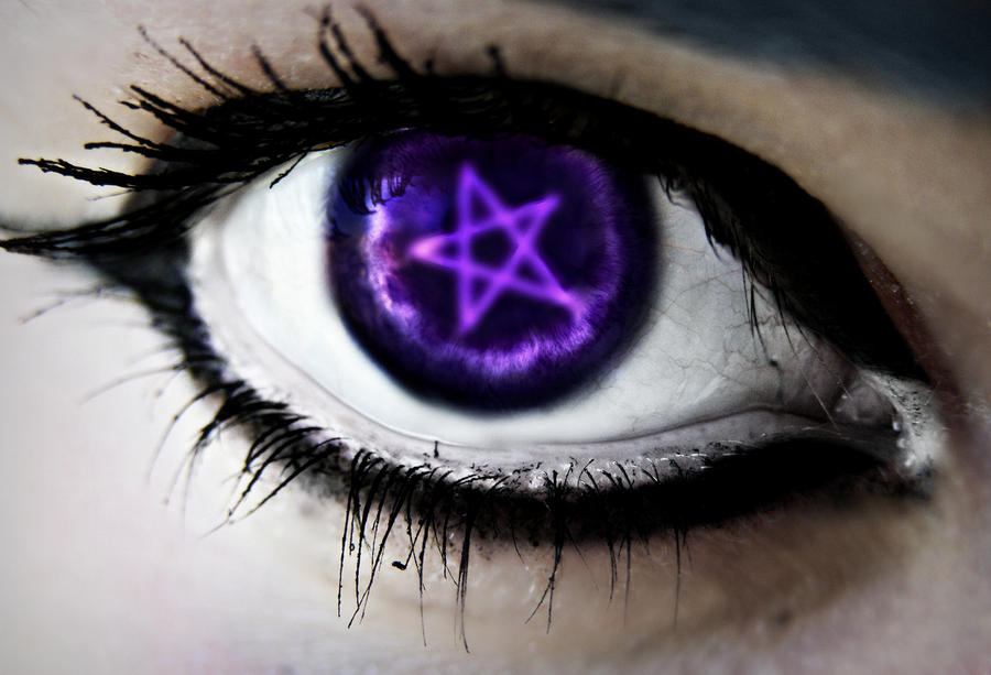 Ciel Phantomhive Eye by DeathNotefan1313