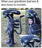 Alien meme by Yugilover1