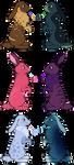 Rabbit Batch 1 - 6/6 OPEN by DragonsAndVideoGames