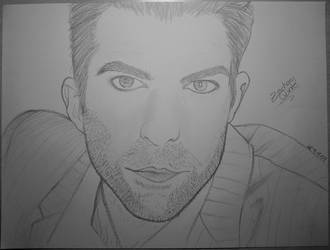 Zachary Quinto by Gil-chan