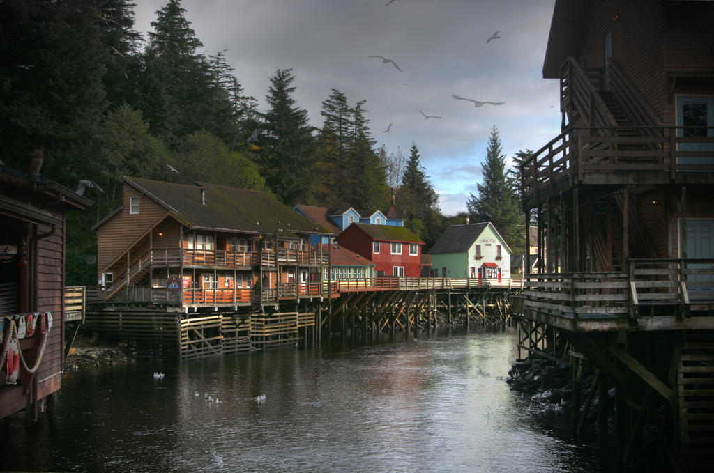 Ketchikan Creek Oct 2 2009 by Muskeg