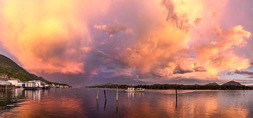 Tongass Narrows Evening Skies