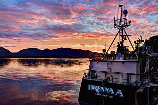 Brenna A Sunset