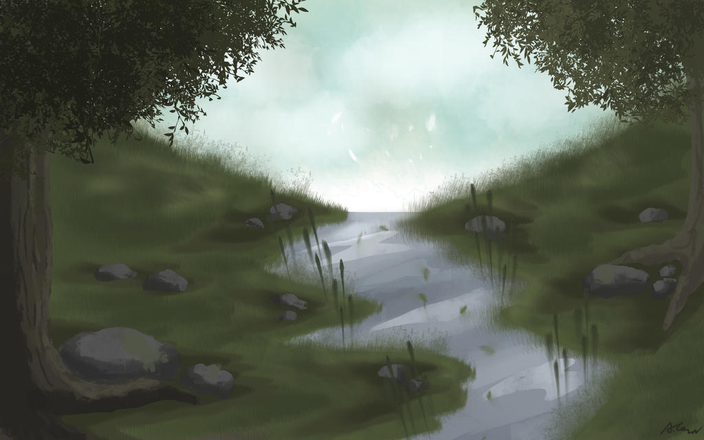 Landscape experiment by 123Hinata