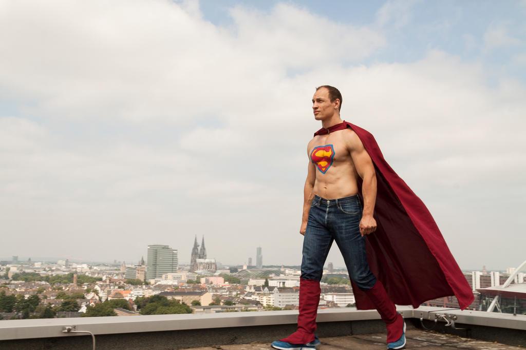 Superman by MyTini