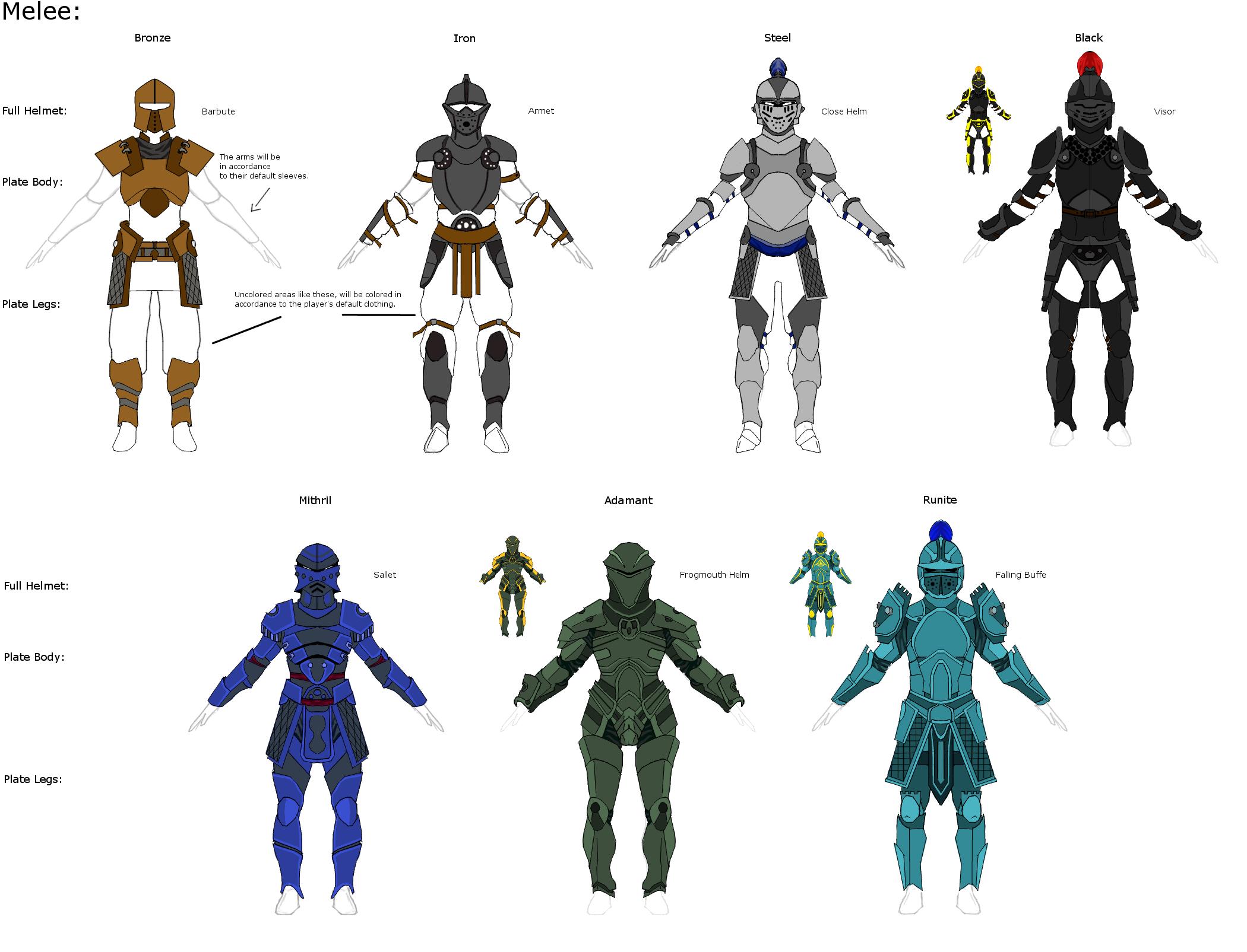 Rs Armor Redesign Concepts By Elitezeon On Deviantart