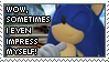 Sometimes I even impress this stamp by LightningChaos2010